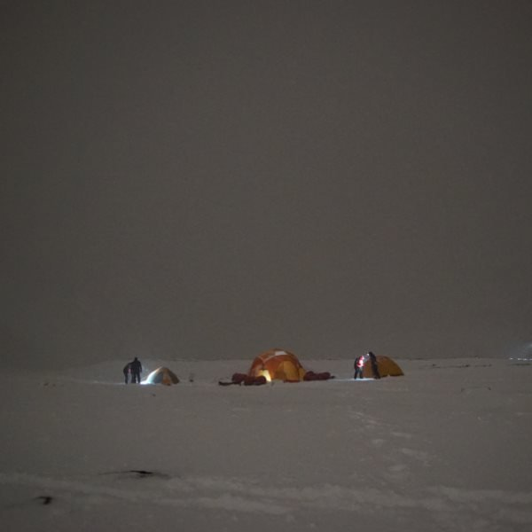 'Home sweet Home' in Svalbard.